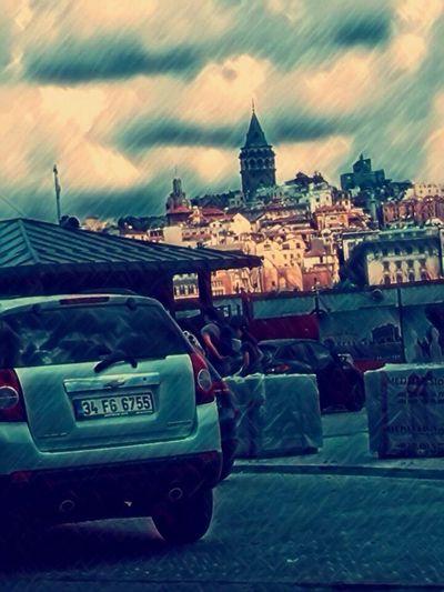Istanbul City Galatakulesi Photography Gaziantep
