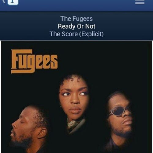The Fugees- Ready Or Not Classic HipHop Oldschool LaurynHill wyclefjean pandora radio 90shiphop