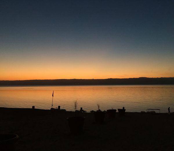 Golden sunset The Dead Sea,Jordan IPhoneography