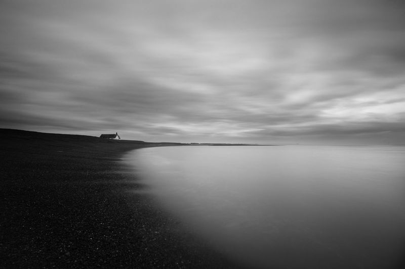 Loneliness Cloud - Sky Sky Nature Water Beauty In Nature Tranquility Tranquil Scene Scenics eye EyeEm Best Shots EyeEm Nature Lover No People Outdoors This Week On Eyeem Day Minimalism Minimal Shingle Street Aldeburgh Southwold Suffolk Depression Long Exposure Loneliness Beach Beachphotography