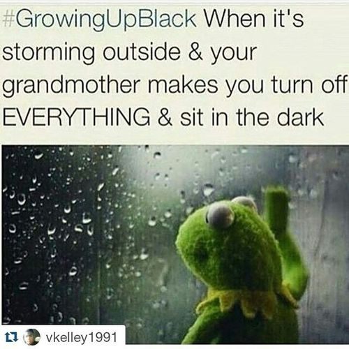 Repost @vkelley1991 ・・・ 😂😂😂😂😂 Man look here! Everybody that grew up like this know you Don't Play with God lol GrowingUpBlack CutItOff
