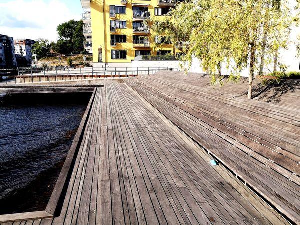 Summer Destination Travel Vacations Sundeck Stockholm Tree City Architecture Sky Building Exterior Built Structure Sun Lounger