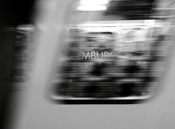 Day 171 - Rosa Luxemburg Platz Berlin Blackandwhite Streetphotography Streetphoto_bw Public Transportation Ubahn Blur Speed 365florianmski 365project Day171
