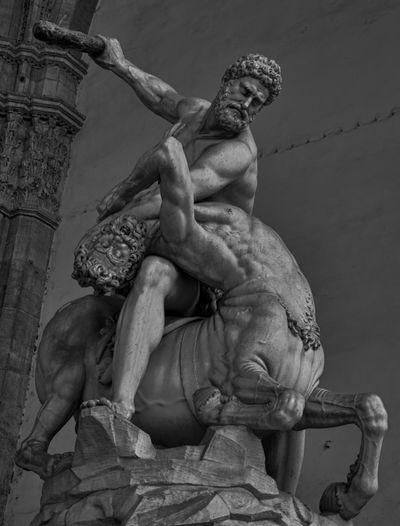 https://en.wikipedia.org/wiki/Loggia_dei_Lanzi Art Ercole E Nesso Firenze Florence Italy Italy Loggia Dei Lanzi  Sculpture Toscana ıtaly Tuscany
