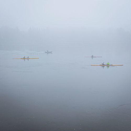 Fog Water Kayak