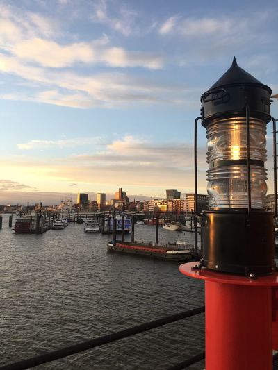 Elbphilharmonie Hamburg Hamburg Harbour Hamburger Hafen Sonnenuntergang Sunset City Elbe Aussicht