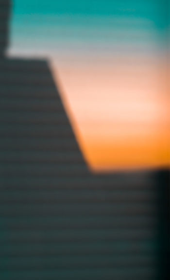 Close-up of sky at sunset
