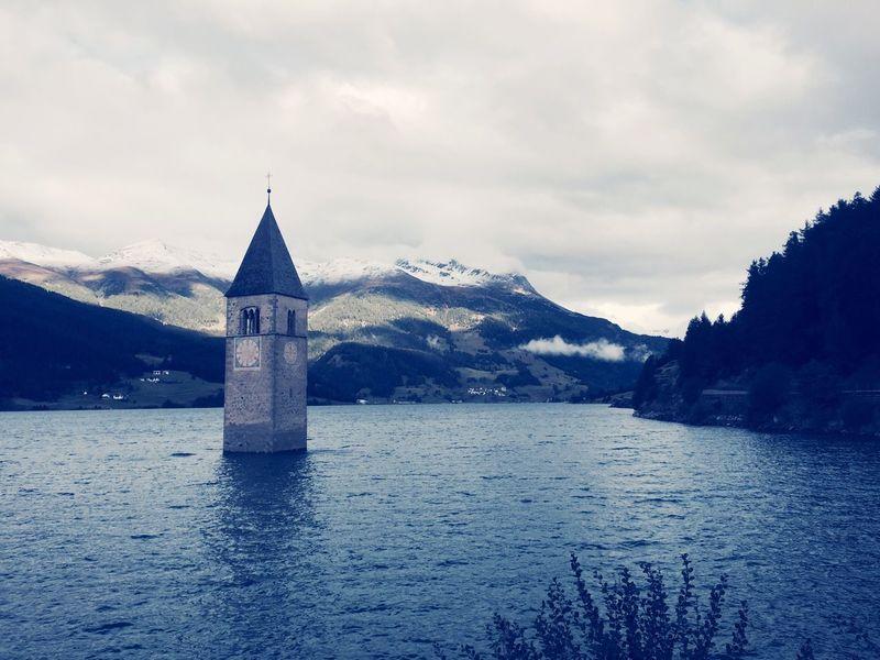 Church Flooded Past Barrage Hydrolic Travel