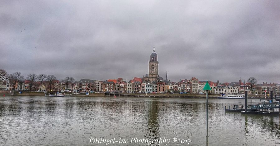 Skyline of Deventer. Travel Destinations Sky Cloud - Sky Travel Tower City No People Cityscape Ferris Wheel Outdoors Architecture Clock Tower Day Creativity Snapseed Hello World Fooling Around ^_^ Silhouette Backgrounds