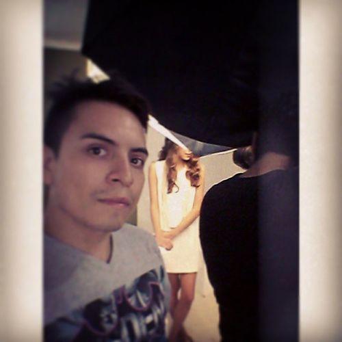 Sigo en Working! Shooting ph @kontrerasphoto model @susanadelima @donoban02 DonobanMakeUp Makeupartist Makeup Maquillaje hairstyle