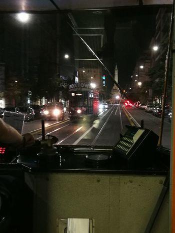 No Filter, No Edit, Just Photography No Filter Nofilter Nofilter#noedit Milano Tram City Illuminated Stoplight Street Light Road Signal Road Marking City Street