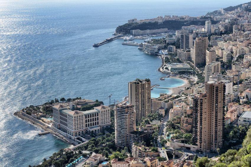 Monaco Montecarlo sunny day