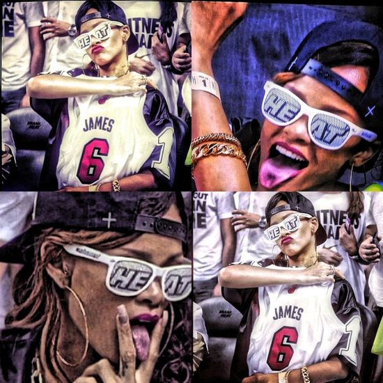 Bby know what it is!! #HeatNation