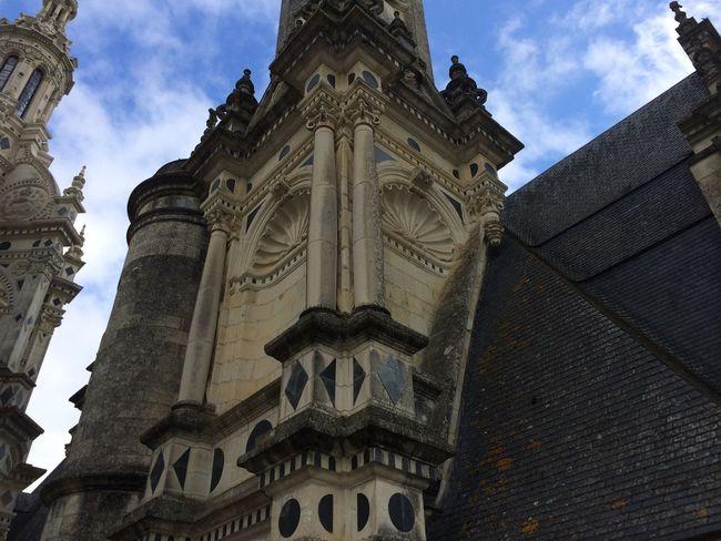 Architecture Building Exterior Built Structure Chateau De Chambord Chateaux Famous Place France History