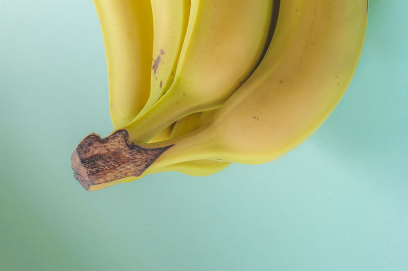 Close-Up Of Banana On Table