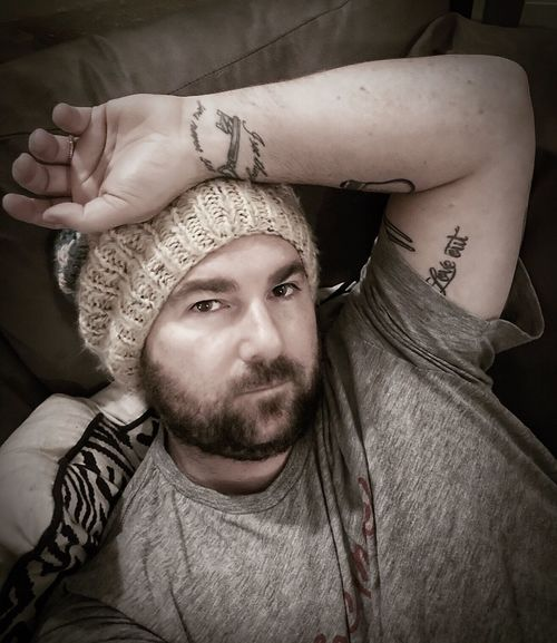 Tattoo Inked Selfportrait Selfie Me Real People One Person Portrait Young Adult Lifestyles Indoors  Young Men Beard