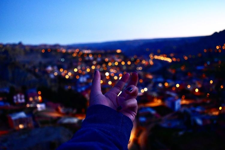 Hand People EyeEmNewHere La Paz, Bolivia Besutiful Nature Nature One Person Nature Photography Sky Affternoon Montains And City One Woman Only Life Light Day Cold Temperature
