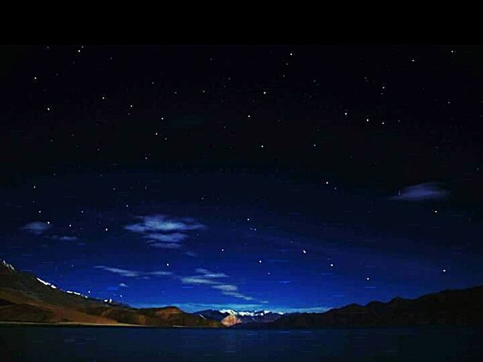 Pangong lake under the milky way. Ladakh- India. First Eyeem Photo
