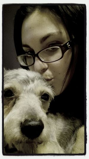 my baby Doggy Old Man Puppy Love