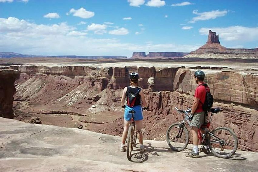White Rim Trail Canyonlands National Park Utah United States Mountain Biking Desert Nature