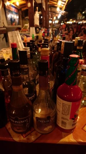 Bottle Alcohol Drink Food And Drink Vodka Night Photo Beach Vacations Travel Destinations Tourism Summer Montañita,Ecuador Ecuador Sky And Clouds Concert Photographylovers