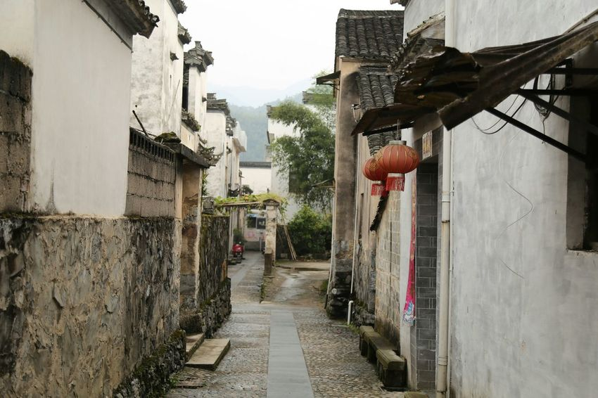 The Purist (no Edit, No Filter) My Unique Style Old Town Anhui,China Old Buildings Alley Alleyway