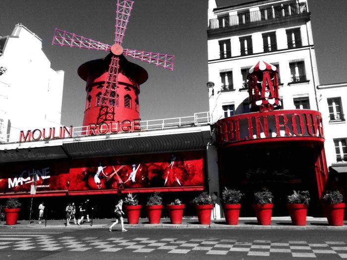 Moulinrouge Architecture Built Structure Red Paris, France  Paris Je T Aime ParisByNight Paris Moulin Rouge