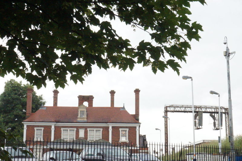 Architecture Brick Building Built Structure Carpark Cars Chimneys Clouds Clouds And Sky Day Growth Harborough High Section Market Harborough Market Harborough Railway Station Outdoors Rail Station Railings Railwaystation Sky Street Light Tree Trees Windows