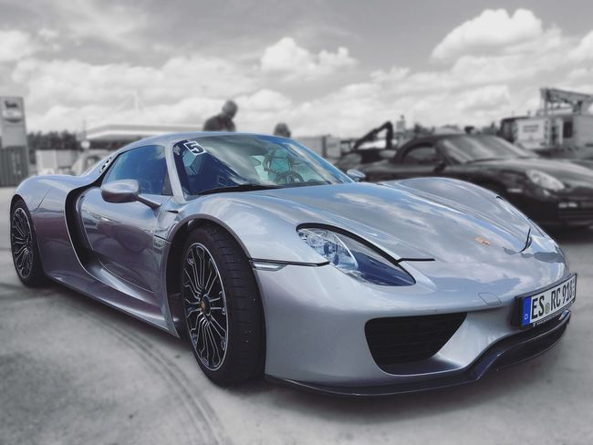 Car Outdoors Racecar Motorsport Auto Racing B&w 918Spyder Porsche
