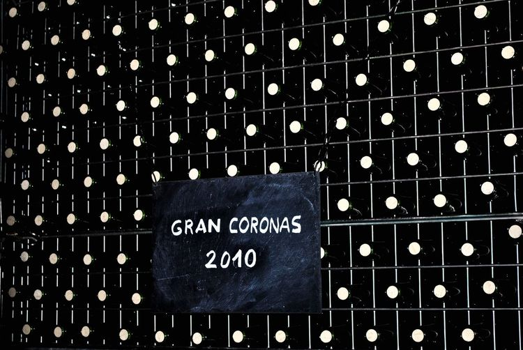 Text Geometric Shape Wine Bottle Chateu Winery Winefabric Torres Villafranca Del Pelvedes Villafranca SPAIN Catalunya