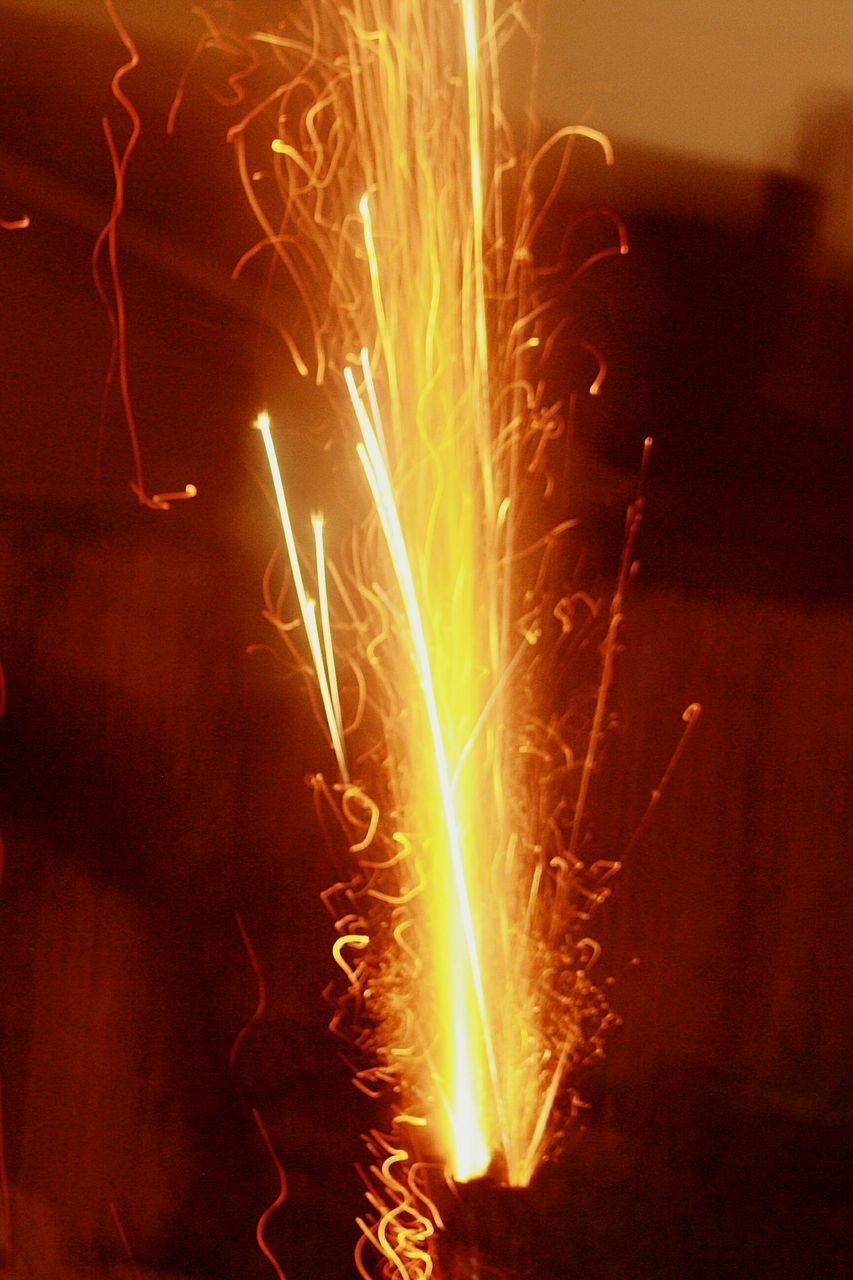burning, night, motion, glowing, celebration, flame, long exposure, illuminated, heat - temperature, firework - man made object, blurred motion, exploding, no people, firework display, close-up, sparkler, indoors, bonfire