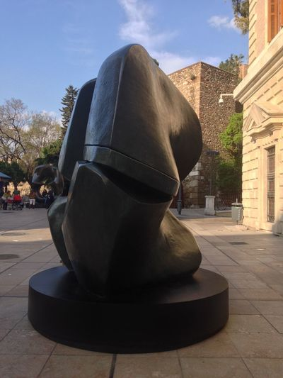 Sculpture Of Henry Moore The Places I've Been Today Malaga Enjoying The View Hello World Hi! Enjoy ✌