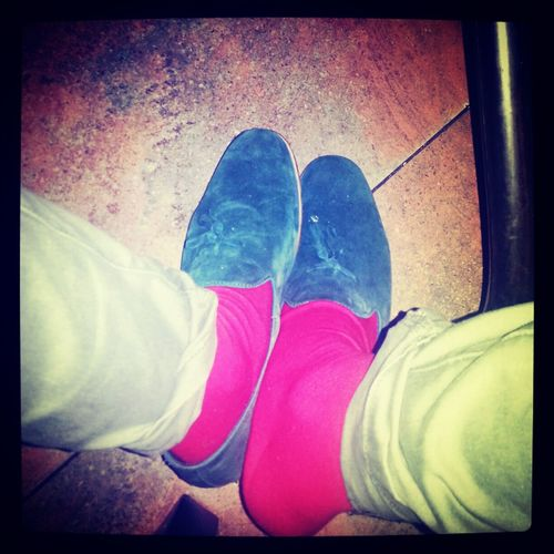 last night shoe game Loafers RedsoCk