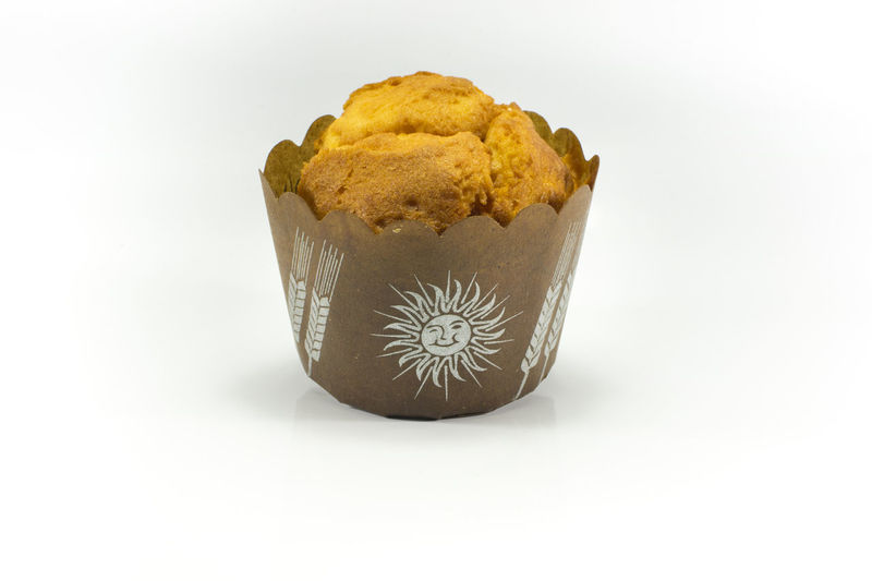 Plain muffin Brown Dilicious Dinner Food Muffins Plain Muffin Sweet White Background