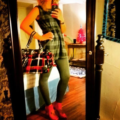 Having such long legs = headless selfies!! Outfit Dress Leggingday Dressup grey plaid juicycourture legs legs4days red redhighheels curlyhair cute feelpretty havingamoment selfie ilovehashtags ilovemylife today mystory fashion instacute instafashion mystyle mystory114 lovemylife lifeisbetterinCOLOR lifeonlifesterms