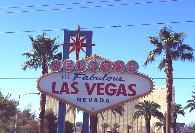 Welcome Las Vegas Nevada Signs Hotweather Summer Visiting Fun SinCity OpenEdit