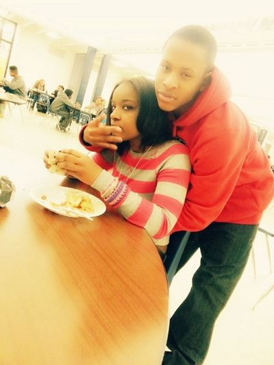 Me & Bighead At Lunch