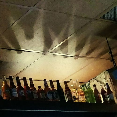 Everything In Its Place Bar Beer Light And Shadow Beer Bottles Shadows Collection Outofthephone Georgia Restaurant From_your_perspective Theellijays Nightlife Eyeemphoto