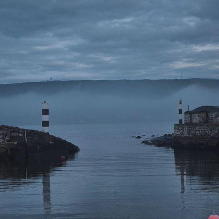 Sky Sea Morning Mist
