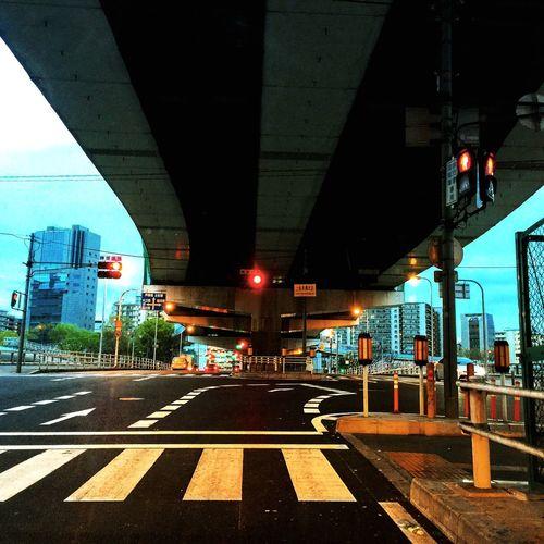 高速道路。