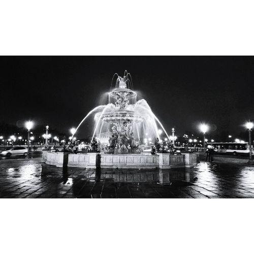 ParisByNight Blackandwhite Night Lights Parisjet'aime