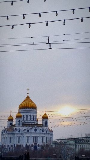 Москва ХрамХристаСпасителя прогулки по москве красота