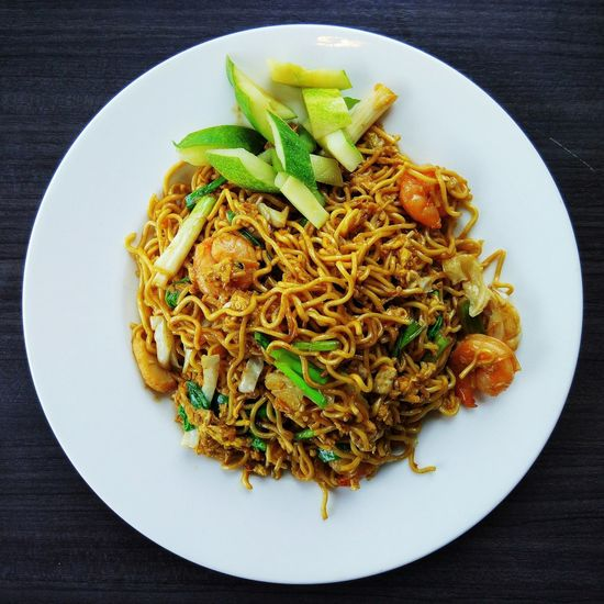Noodles Seafoods Solaria Acar Close-up Day Food Food And Drink Freshness Healthy Eating Indoors  Lemak Mammal Mi Goreng Mie Mie Goreng Seaf No People Plate Ready-to-eat Serving Size Table Food Stories