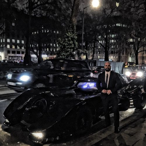 London Mayfair, London Batman Batmobile Gotham