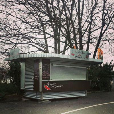 Winterschlaf #koeln #cologne #kennedyufer #winter Winter Cologne Koeln Kennedyufer
