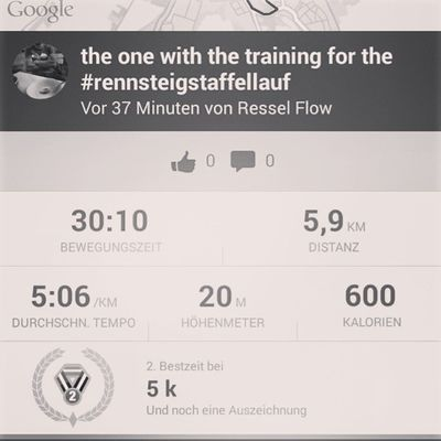 the one with the training for the Rennsteigstaffellauf Medletik Medletiklaufteam Crosstraining crosstrainingthüringen draußenzuhause instafit instasport running strava weimar thüringen germany