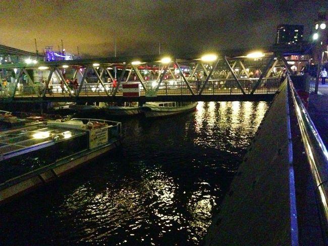 Night Lights Harbour Hamburg my My Life - Just Now