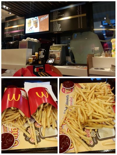 McDonald's Fries Eating Chiang Mai | Thailand
