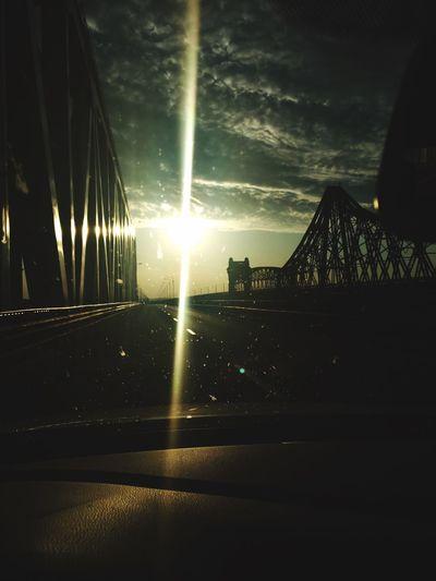 Romania Sky Bridge - Man Made Structure Built_Structure Car Travel Destinations Sunset Let's Go. Together.