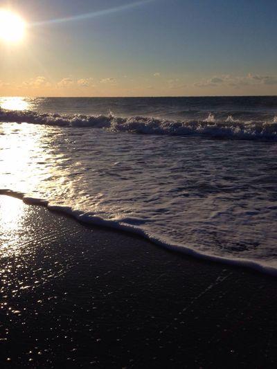 おはよう〜ございます?晴れ〜 Beach